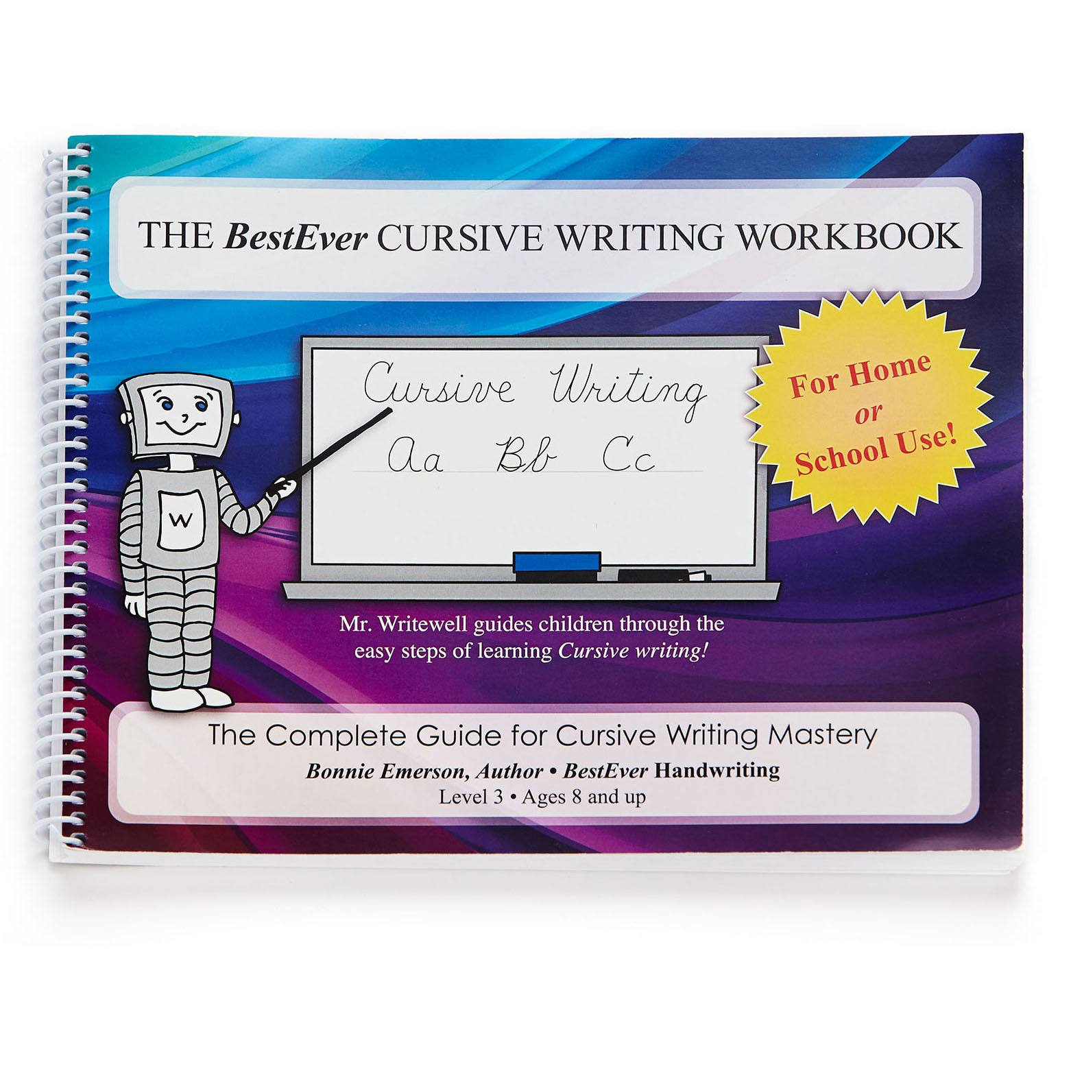cursive writing workbooks Cursive handwriting chart for zb style practice with upper and  lines to practice writing the letters a-z trace the dotted letters 26 pages and chart with.